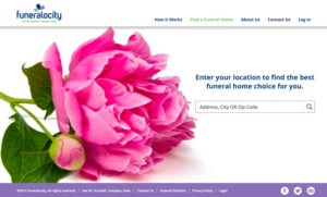 Find funeral homes in your area