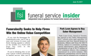 Funeral Service Insider: Funeralocity Seeks to Help Firms With the Online Value Competition