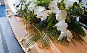 Funeral costs typically include the purchase of a casket